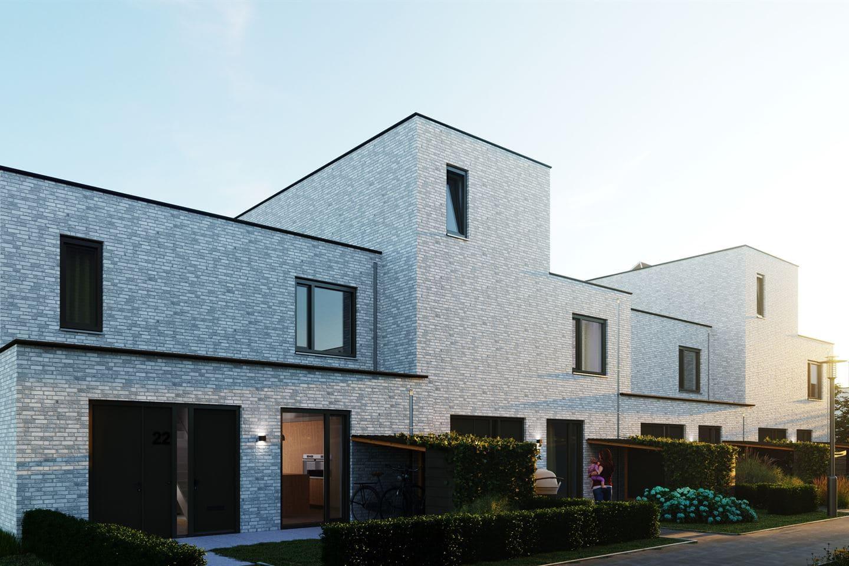 Parkhouses Parijsch. Gevoegd door G.H.M. Steemers Voegwerken Helmond Noord-Brabant
