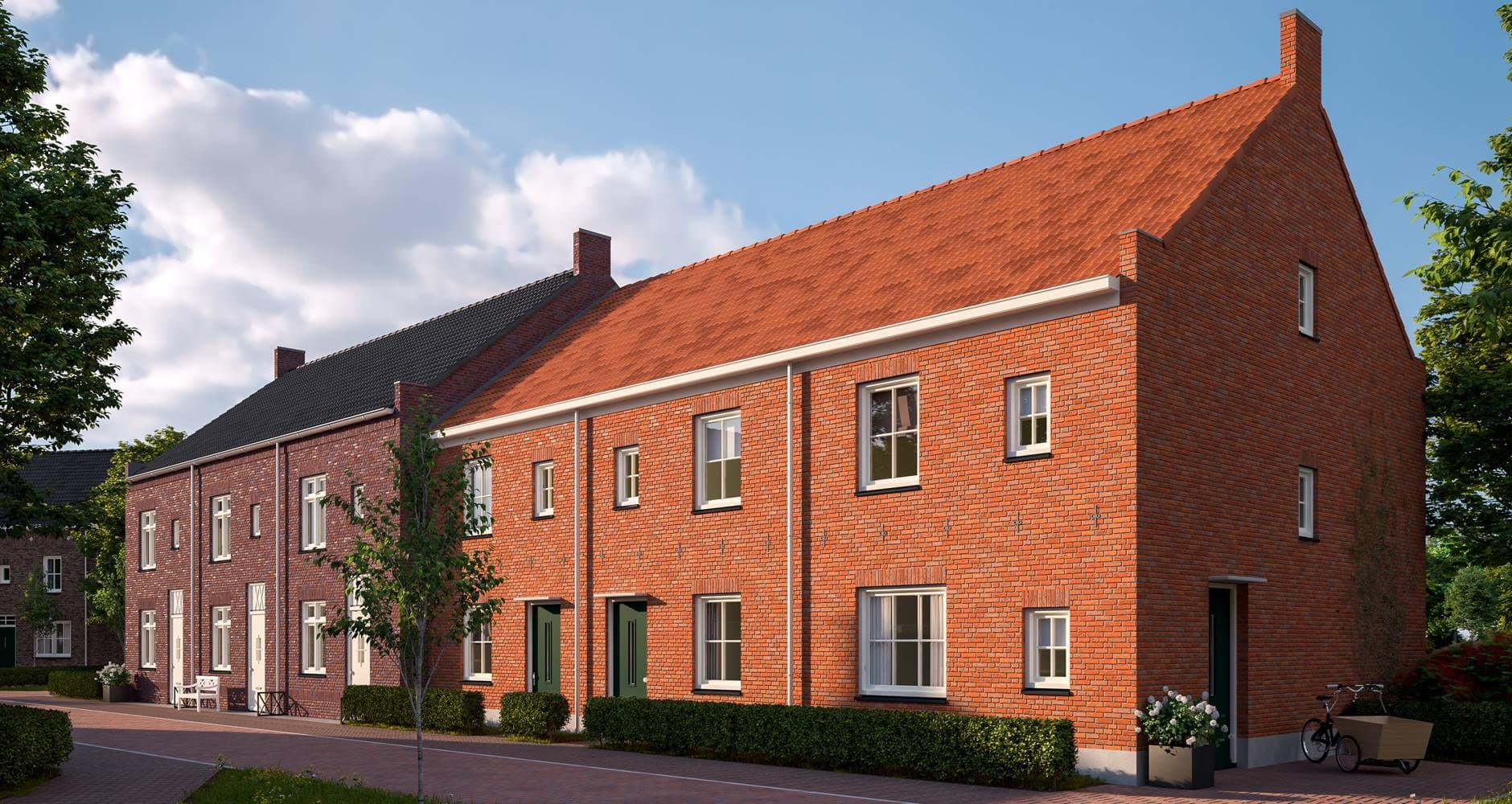 25 woningen Nuenen West G.H.M. Steemers Voegwerken